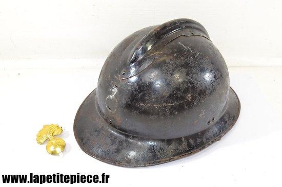 Casque Adrian 1926 Gendarmerie ou milice - WW2
