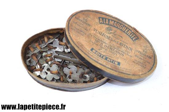 Boite de veilleuses Françaises début 20e Siècle.