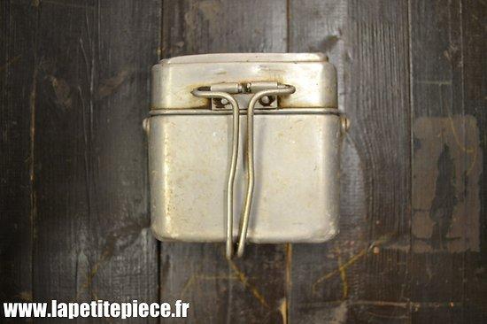 Gamelle modèle 1935 / marmite individuelle. France WW2  JF 1937