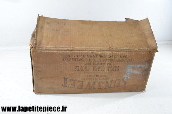 Carton américain, idéal reconstitution US WW2