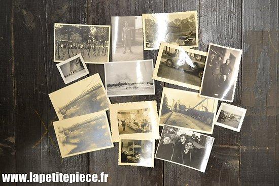 Lot de photos WW2 - soldats Allemand