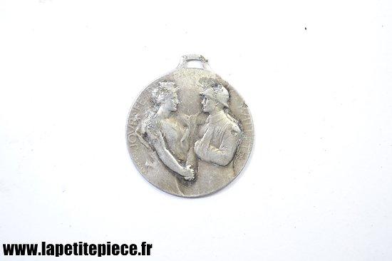Médaille journée du Poilus Juillet 1917