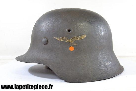Casque Allemand M42 Luftwaffe Emaillierwerke AG, Fulda