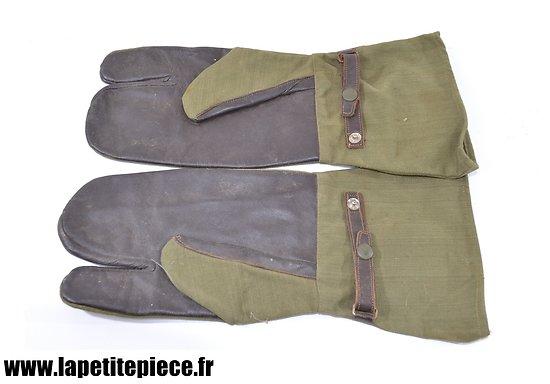 Gants Français pour troupes motorisées années 1950