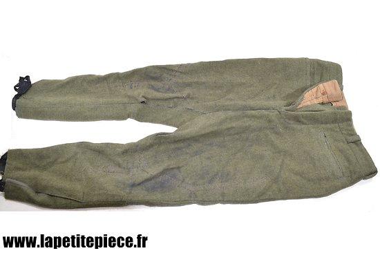 Pantalon militaire années 1930. Idéal mannequin Allemand WW2