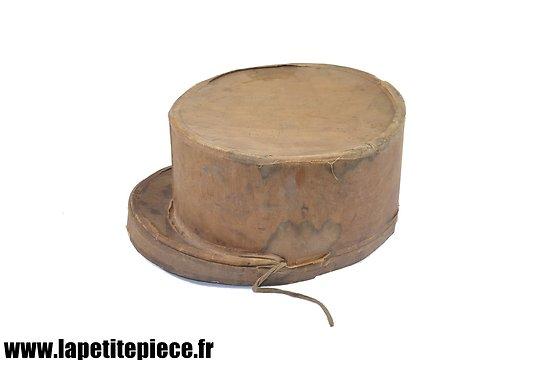 Boite de rangement pour képi Française, fin 19e - début 20e Siècle