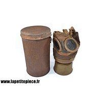 Masque à gaz ARS 17 Première Guerre Mondiale