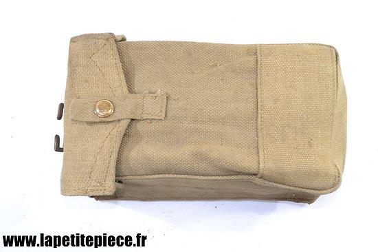 Etui / pouch cartouchière Anglaise 1941 - WW2 pourvoyeur FM BREN