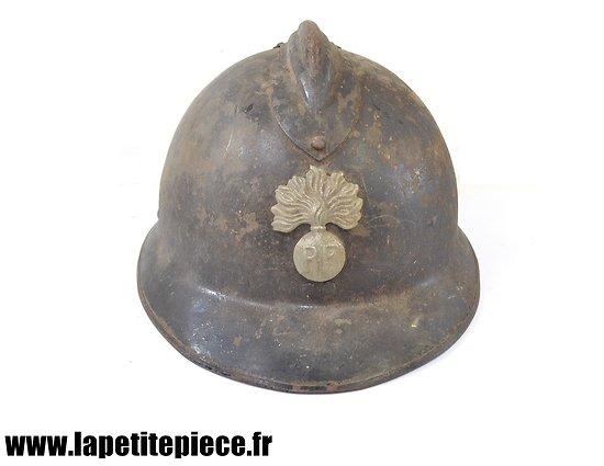 Casque Gendarmerie 1926 nominatif