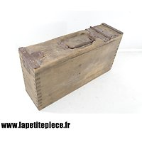 Caisse à munitions Allemande WW1 bois - MG 08 - 15