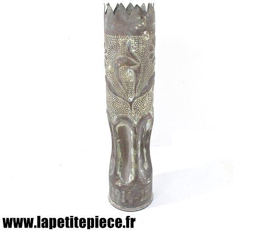 Vase douille artisanat de tranchée 1914 1918