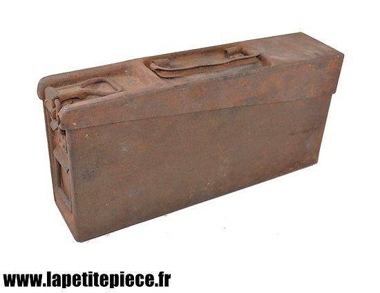 Caisse fer Allemande MG 08-15