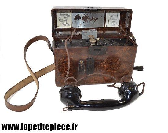 Téléphone de campagne Allemand - 1940 Eumig Feldfernsprecher 33