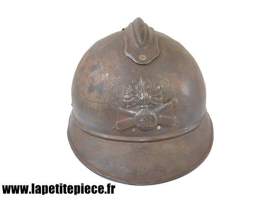 Casque Adrian modèle 1915 Artillerie