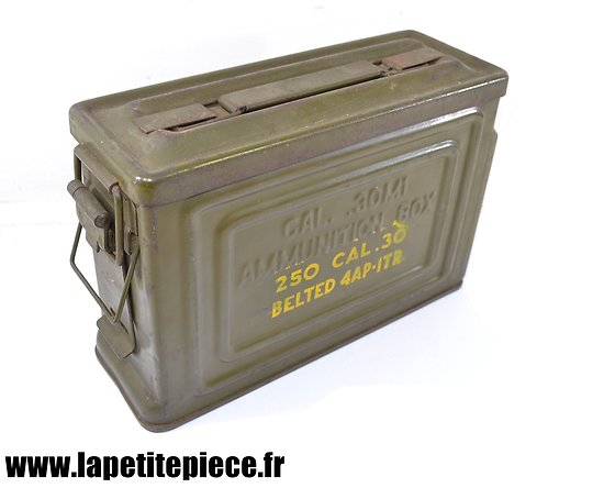 Caisse US Cal. 30 M1 Reeves