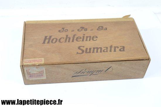 Boite de cigares Allemand Deuxième Guerre Mondiale.