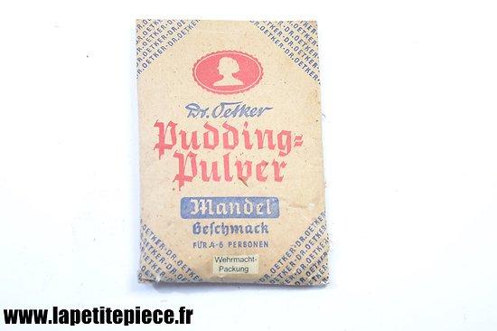 Sachet de Pudding-Pulver 1943 Wehrmacht-Packung - Dr Oetker