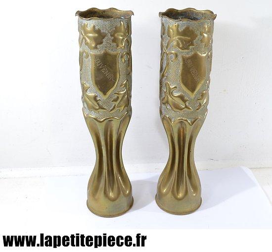 Douilles / vases artisanat Souvenirs