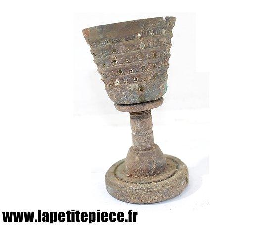 Coquetier artisanat de tranchée Première Guerre Mondiale