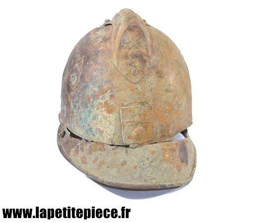 Épave de casque français Pompier