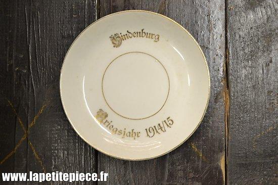 Sous-coupe de tasse Hindenburg Kriegsjahr 1914/15