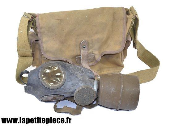 Masque à gaz Français ARS C38  - Deuxième Guerre Mondiale