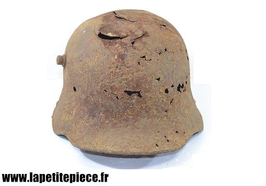 Casque Allemand modèle 1916, pièce de terrain