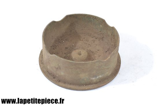 Cendrier artisanal Première Guerre Mondiale - pièce de terrain