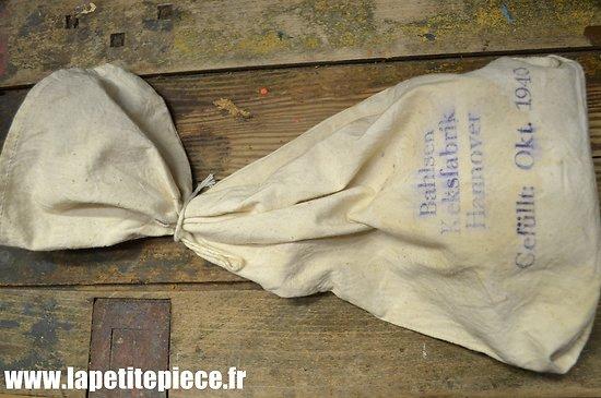 Sac à provisions Allemand Zwieback Beutel Bahlsen Keksfabrik Hannover 1940