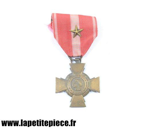 Croix de la Valeur Militaire Française, Première Guerre Mondiale