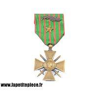 Croix de Guerre 1914-1917 avec citation / palme
