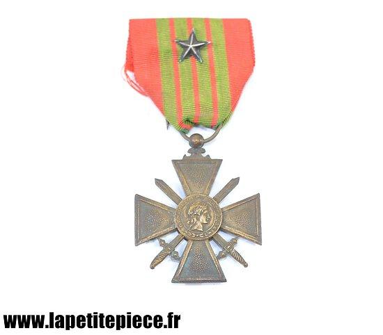 Croix de Guerre 1939 avec citation