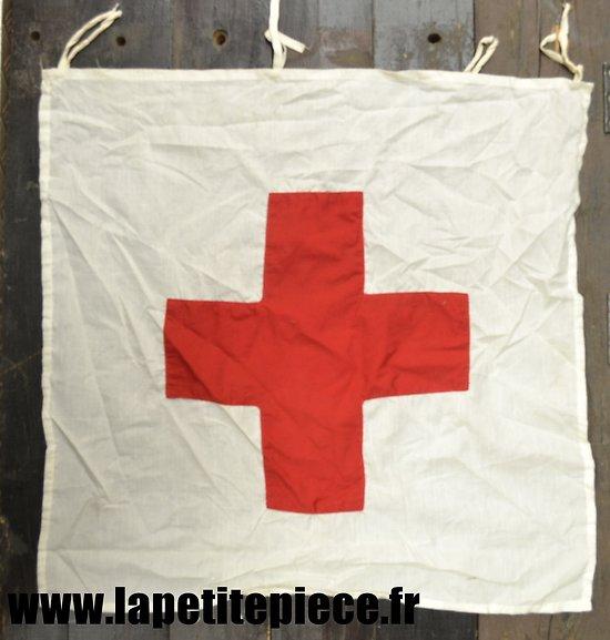 Repro drapeau / fanion Croix Rouge