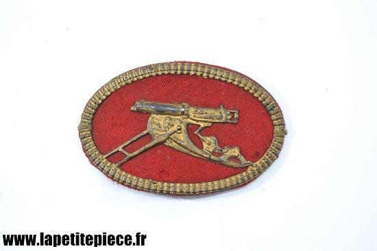 Insigne de mitrailleur Allemand Weltkrieg Ärmelabzeichen Maschinengewehr