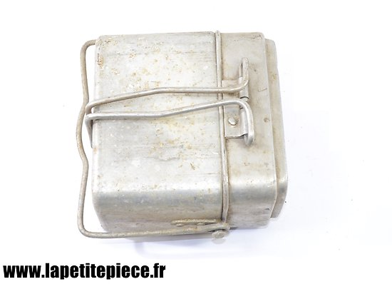 Gamelle modèle 1935 / marmite individuelle. France WW2  MM 1937