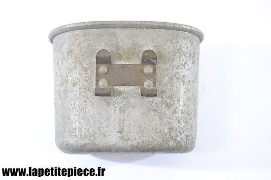 Quart US modèle 1910 Aluminium sans poignée