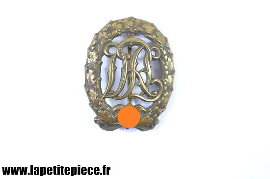 Insigne Reichssportabzeichen DRL Bronze Wernstein Jena DRGM 35269