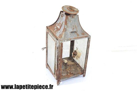 Lanterne à bougie Française Première Guerre Mondiale