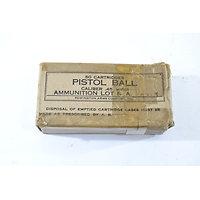 Boite US PISTOL BALL Caliber .45 M1911 Remington Arms Company