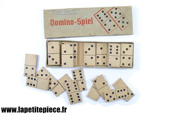 Jeu dominos Allemand Deuxième Guerre Mondiale. Domino-Spiel