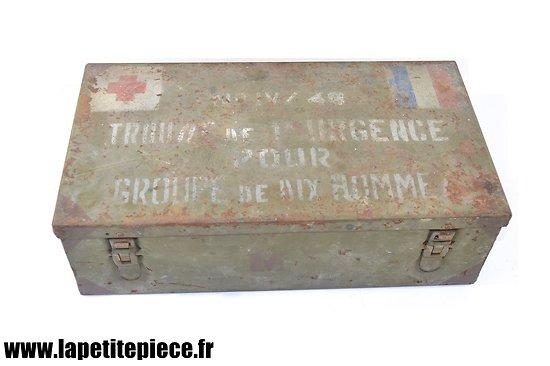 Verbandkasten Allemande WW2 réutilisée Armée Française Indochine trousse de secours