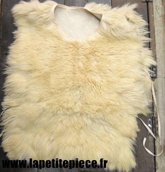 Repro chape peau de mouton - surtout hiver