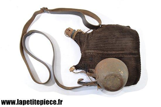 Bidon modèle 1877 ersatz 2L reconditionné, France WWI