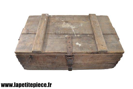 Caisse Allemande Hülsenkartuschen 10 cm K14 WW1