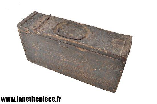 Caisse MG 08-15 bois