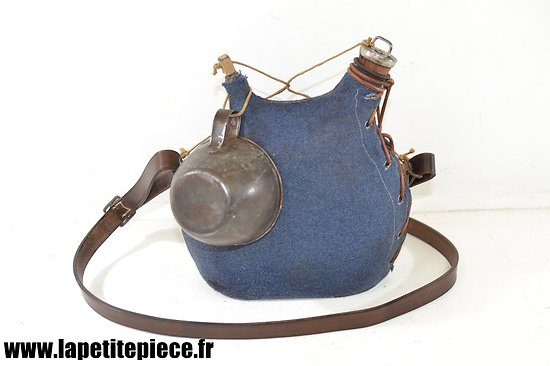Bidon modèle 1877 restauré, 2L