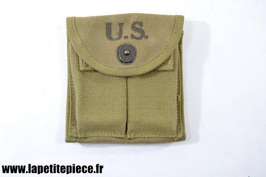 Etui porte chargeurs US M1 Pocket magazine cal. .30 M1 J.S.&Co. 1943