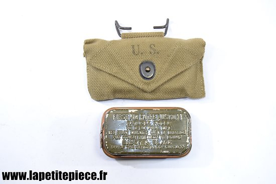 Pouch first aid dressing M-1924 R.M.T.Co. 1942
