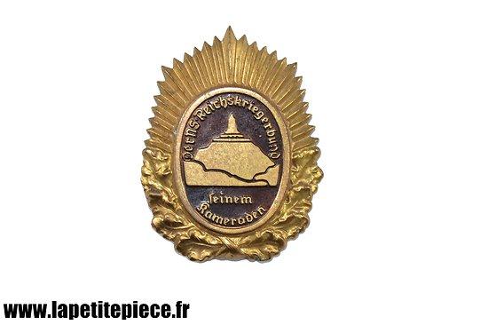 Badge Allemand Der NS-Reichskriegerbund Seinem Kameraden, or