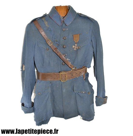 Vareuse de capitaine d'artillerie - Pièce de grenier